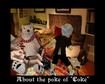 "About the poke of ""Coke"""